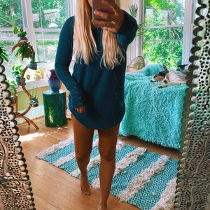 Tops - Turquoise Thermal Tunic 🌈